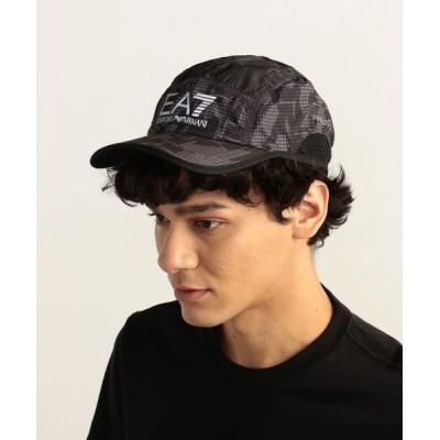 EMPORIO ARMANI / 【エンポリオ アルマーニ EA7】グラフィックプリントキャップ MEN 帽子 > キャップ