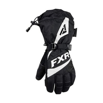 FXR - 2019 - Womens Fusion Gloves (Medium, Black/White)【並行輸入品】