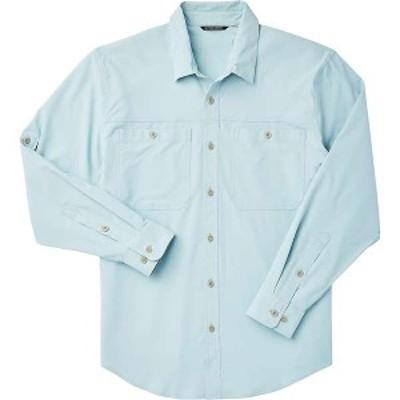 フィルソン メンズ シャツ トップス Filson Men's Ultra-Light Shirt Gulf Blue