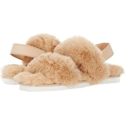 ドルチェヴィータ Dolce Vita レディース スリッパ シューズ・靴 Plato Tan Faux Fur