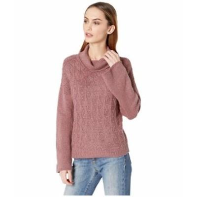 Lucky Brand ラッキーブランド 服 スウェット Pointelle Turtleneck Sweater