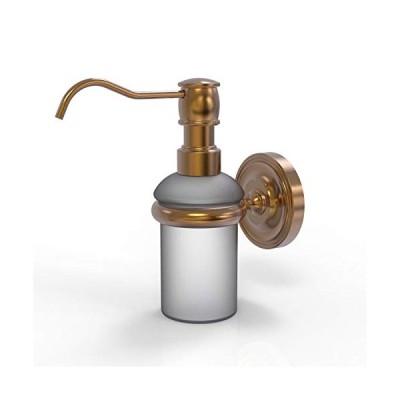 送料無料!Allied Brass PR-60-BBR Wall Mounted Soap Dispenser, Brushed Bronze