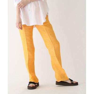 DRESSTERIOR/ドレステリア ◆AURALEE リネン5ポケットパンツ オレンジ(067) 02(M)