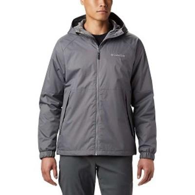 コロンビア メンズ ジャケット・ブルゾン アウター Columbia Men's Helvetia Heights Jacket City Grey