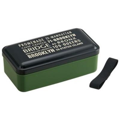 弁当箱 男子 大容量 / おかず のっけ 弁当箱 870ml ブルックリン[SKA]