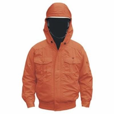 NSP NB-101空調服チタンフード付(服) オレンジ S 554582397503792