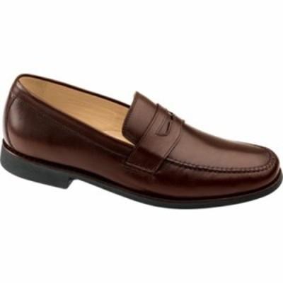 ジョンストン&マーフィー 革靴・ビジネスシューズ Ainsworth Penny Antique Mahogany Veal