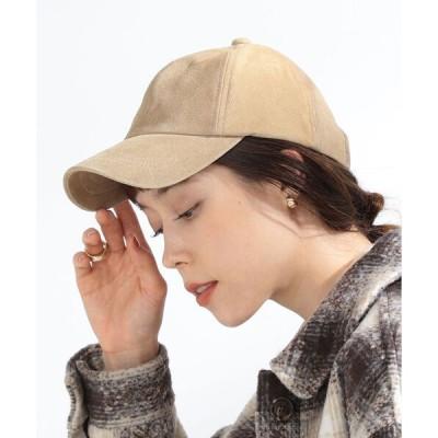 帽子 キャップ Ray BEAMS / 撥水 スエード キャップ(0493.CL)
