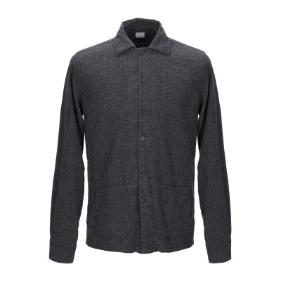 XACUS シャツ スチールグレー 38 コットン 100% シャツ