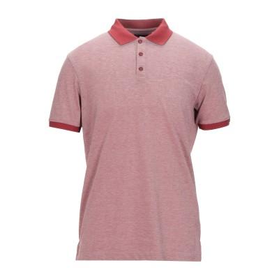 アルマーニ ジーンズ ARMANI JEANS ポロシャツ レッド L コットン 50% / ポリエステル 50% ポロシャツ
