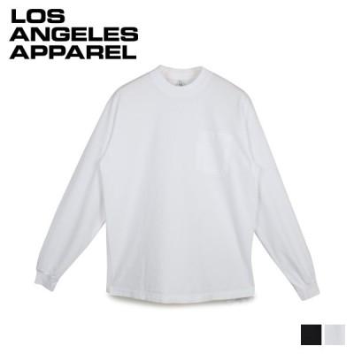 ロサンゼルスアパレル LOS ANGELES APPAREL Tシャツ 6.5オンス 長袖 ロンT カットソー ポケット 無地 6.5 OZ LS GARMENT DYE POCKET T-SHIRT 1810GD