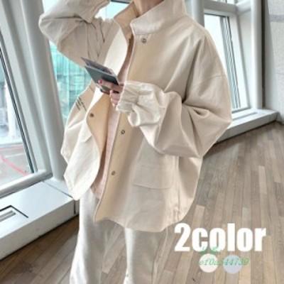 ジャケット レディース コート オシャレ 春秋 40代 30代 2色 カジュアルジャケット 薄い きれいめ 着痩せ ゆったり 長袖 韓国風 通勤 シ