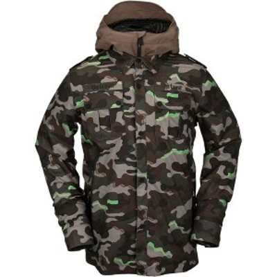 ボルコム メンズ ジャケット・ブルゾン アウター Creedle2Stone Jacket Army