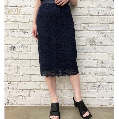 【ラウンジドレス/Loungedress】 イージーレーススカート