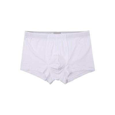 ハンロ Hanro メンズ ボクサーパンツ インナー・下着 Cotton Superior Boxer Brief White