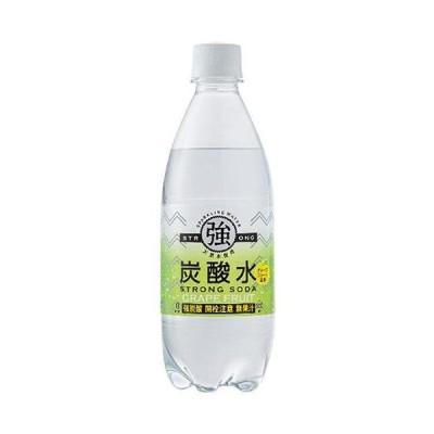 送料無料 友桝飲料 強炭酸水 グレープフルーツ 500mlペットボトル×24本入