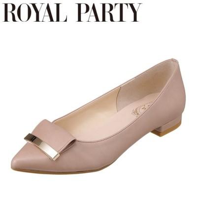 ロイヤルパーティ ROYAL PARTY RP290 レディース | パンプス | 日本製 国産 | ポインテッドトゥ | ローヒール | オーク
