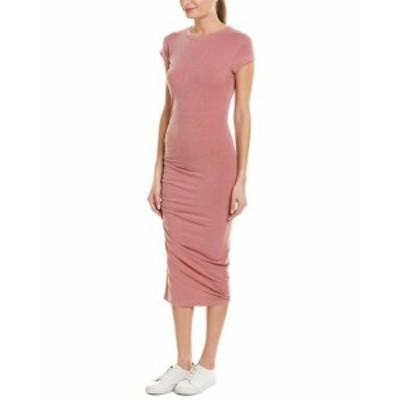 Sundry サンドリー ファッション ドレス Sundry Ruched Midi Dress