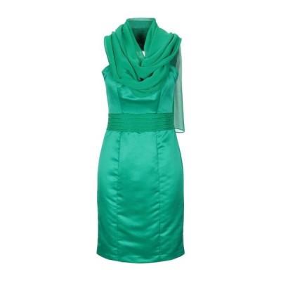 CARLO PIGNATELLI チューブドレス ファッション  レディースファッション  ドレス、ブライダル  パーティドレス グリーン
