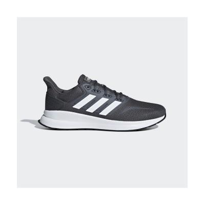 (adidas/アディダス)アディダス/メンズ/FALCONRUN M/メンズ グレーシックス/フットウェアホワイト/コアブラック