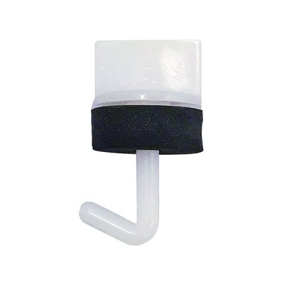 ダイドーハント(DAIDOHANT) 波板取付部材 ワンタッチ プラフック (長さ) 25mm 32448.0 ホワイト 100入