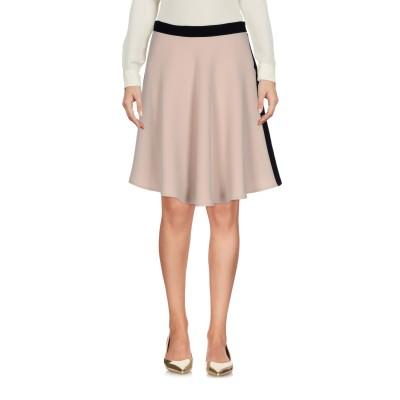 リュー ジョー LIU •JO ひざ丈スカート ベージュ 38 100% ポリエステル ひざ丈スカート