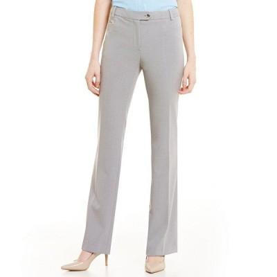 カルバンクライン レディース カジュアルパンツ ボトムス Modern Fit Straight Leg Pants Tin