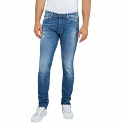 リプレイ Replay メンズ ジーンズ・デニム ボトムス・パンツ Donny Jeans Slim Tapered Fit Mid Blue