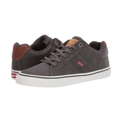 Levi's(R) Shoes リーバイス メンズ 男性用 シューズ 靴 スニーカー 運動靴 Turner Tumbled Wax - Charcoal/Tan