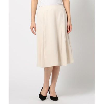 【ミューズ リファインド クローズ】 マチ接ぎセミフレアスカート レディース ベージュ M MEW'S REFINED CLOTHES