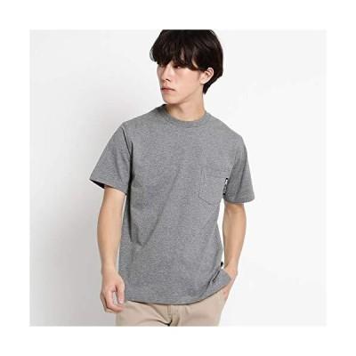 (ベース コントロール) BASECONTROL Tシャツ メンズ クルーネック ポケット 半袖Tシャツ 22311501 01(S) ブラック系(0