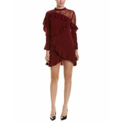 Ruffle  ファッション ドレス Cistar Ruffle Shift Dress