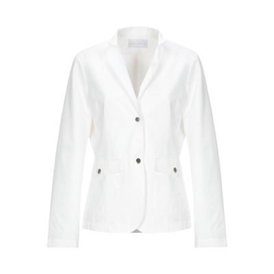 ディアナ ガッレージ DIANA GALLESI テーラードジャケット ホワイト 44 ポリエステル 100% テーラードジャケット
