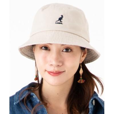 帽子屋ONSPOTZ / カンゴール バケットハット WASHED KANGOL WOMEN 帽子 > ハット