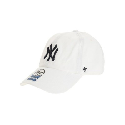 フォーティーセブン(47) 帽子 メンズ キャップ YankeesKids CLEAN UP B-RGW17GWS-WHN オンライン価格 日よけ (キッズ)