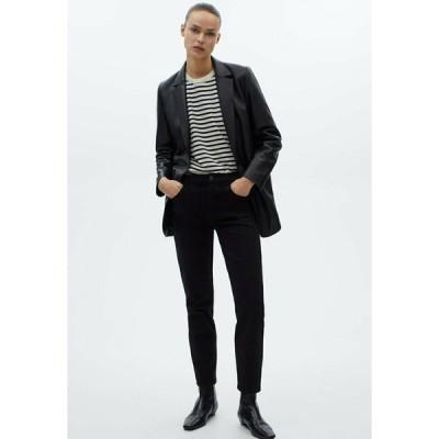 マッシモ ドゥッティ カジュアルパンツ レディース ボトムス MIT HOHEM BUND - Trousers - black