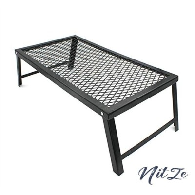 [FAVORABLE SCENERY] 折り畳み アウトドア テーブル 焚き火テーブル クッカースタンド BBQ キャップ 山ごはん 55*30cm