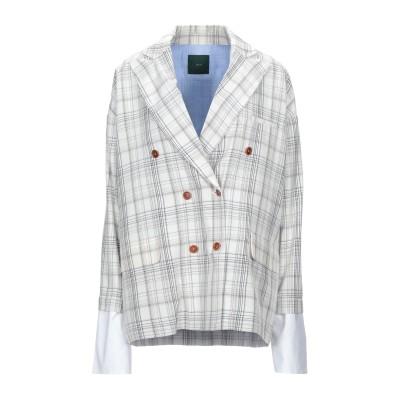 JEJIA テーラードジャケット アイボリー 44 レーヨン 100% テーラードジャケット