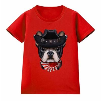 【かわいい フレンチブルドッグ ドッグ 犬 いぬ 日本 JAPAN】レディース 半袖 Tシャツ by Fox Republic