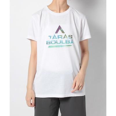 TARAS BOULBA(タラスブルバ) レディースドライミックス ロゴTシャツ M WHT レディース TBW-S20-014-035 WHT