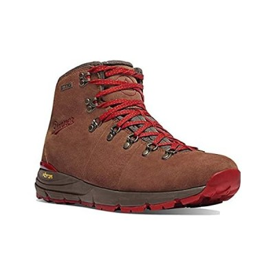 """Danner womens Mountain 600 4.5"""" Hiking Boot, Brown/Red - Suede, 8 US"""