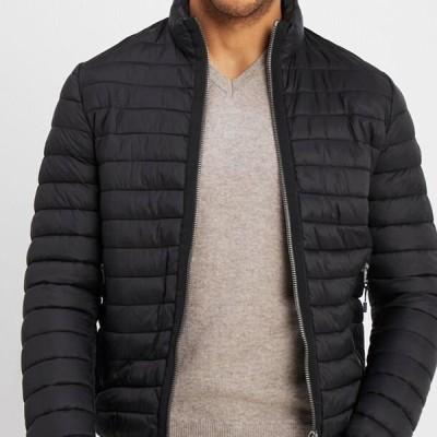 マルコポーロ メンズ ファッション JACKET - Light jacket - black