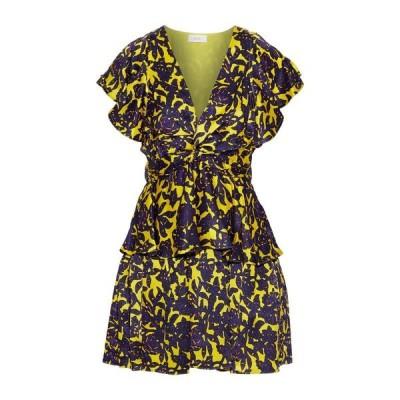 A.L.C. シルクドレス ファッション  レディースファッション  ドレス、ブライダル  パーティドレス イエロー