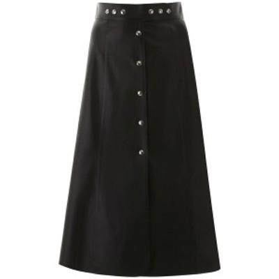 PRADA/プラダ ミディスカート NERO Prada leather midi skirt レディース 春夏2020 51755 FLY ik