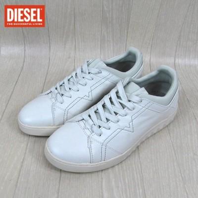 ディーゼル DIESEL メンズ スニーカー Y01451 PR215 / T1003 / ホワイト サイズ:EU41〜43