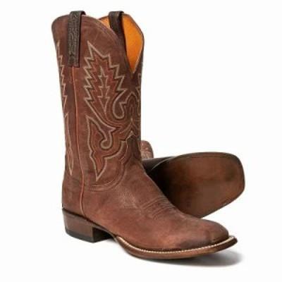 ルケーシー ブーツ Shrunk Goat Cowboy Boots - 12 Rust