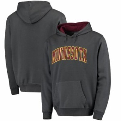 Stadium Athletic スタジアム アスレティック スポーツ用品  Colosseum Minnesota Golden Gophers Charcoal Arch Pull