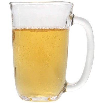 ビールジョッキ ビールマグプレミアムガラス飲酒カップすべての目的タンブラーホームダイニングバー410ml / 14oz ビールギフト (Color :