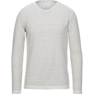 ビカム BECOME メンズ ニット・セーター トップス sweater White