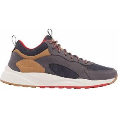 コロンビア メンズ ブーツ・レインブーツ シューズ Columbia Men's Pivot Mid Waterproof Shoe Dark Grey/Rusty Red